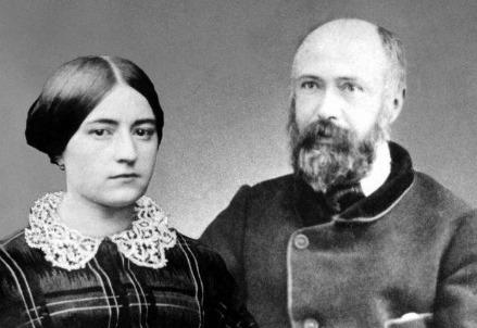 Marie-Azélie Guérin (1831-1877) e Louis Martin (1823-1894) (Immagine dal web)