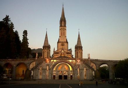 Il santuario di Luordes (Infophoto)