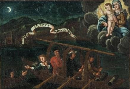 Un ex voto del Santuario di Ossuccio (Immagine d'archivio)