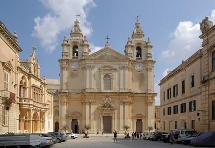 La Cattedrale cattolica di Malta (Immagine d'archivio)