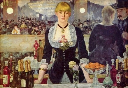 E. Manet, Un Bar aux Folies Bergère (1881-82) (Wikipedia)