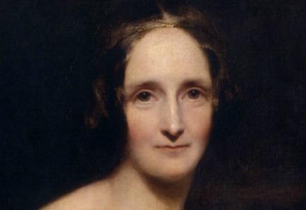 Mary Shelley nel ritratto di Richard Rothwell (1840) (Immagine dal web)