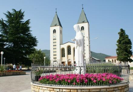 La chiesa di San Giacomo a Medjugorje (Immagine dal web)