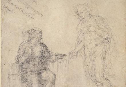 Michelangelo, Cristo risorto appare alla Madre (Immagine d'archivio)