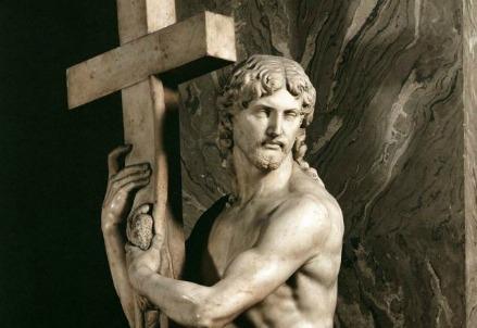 Michelangelo, Cristo Risorto o Cristo della Minerva (1520) (Foto dal web)