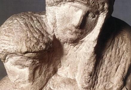 Michelangelo, Pietà Rondanini 1552-64 (Immagine d'archivio)