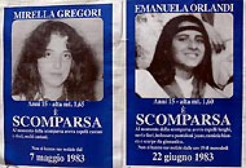 Mirella Gregori ed Emanuela Orlandi
