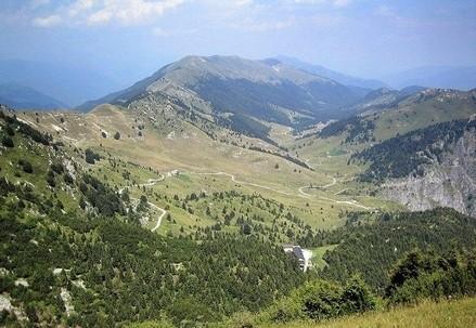 Le alture del Monte Grappa (Immagine d'archivio)