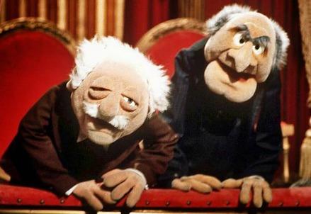 Due celebri Muppets: Statler e Waldorf (Immagine dal web)