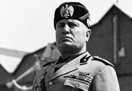 Benito Mussolini (Immagine dal web)