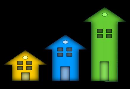 Mercato immobiliare in crescita