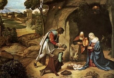 Giorgione, Adorazione dei pastori (1500-05) (Immagine d'archivio)
