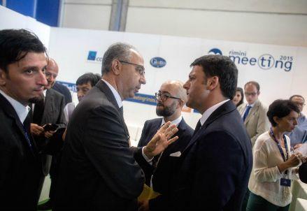 Nicola Boscoletto con Matteo Renzi