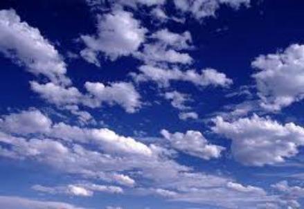 Le nuvole che sono al centro dello studio