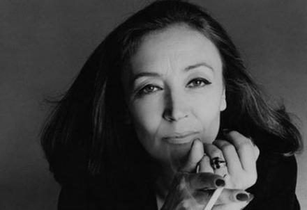 Oriana Fallaci (1929-2006) (Immagine dal web)