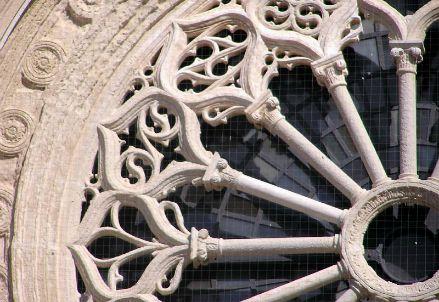 Il rosone della Cattedrale di Otranto (Immagine dal web)