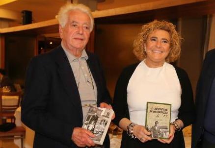 Mariano Bignami con Edda Negri Mussolini (Foto da Il Resto del Carlino)