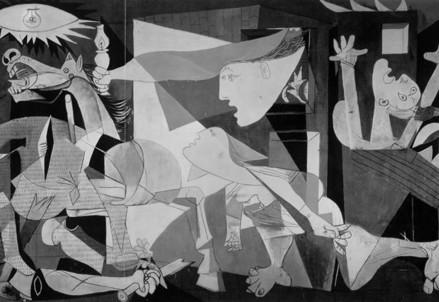 Pablo Picasso, Guernica (1937) (Immagine dal web)