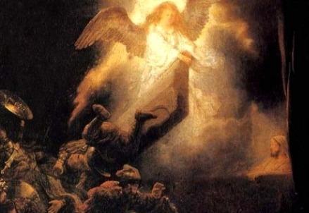 Rembrandt van Rijn, Resurrezione (1635) (Immagine dal web)