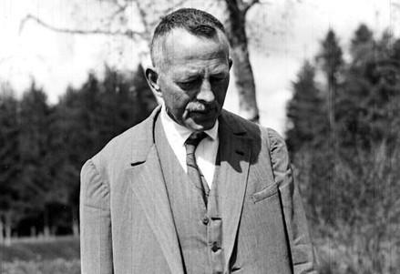 Robert Walser (Immagine d'archivio)