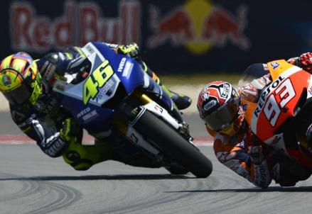 Valentino Rossi e Marc Marquez (Immagine dal web)