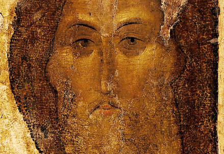 Andrej Rublëv, Cristo redentore (1410 circa) (Immagine d'archivio)