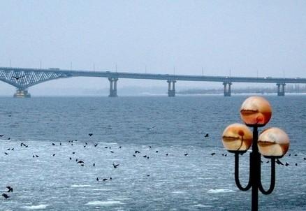 Il fiume Volga a Saratov (Russia) (foto Wikipedia)