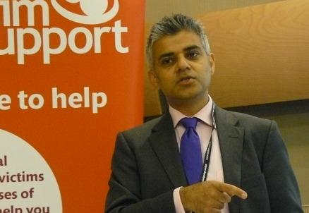 Sadiq Khan, sindaco di Londra (Foto Wikipedia)