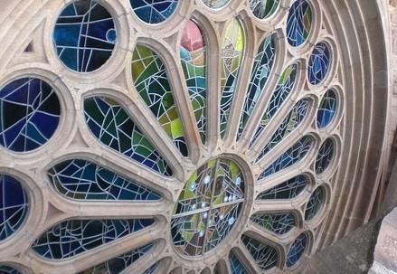 Rosone della Sagrada Familia (immagine d'archivio)