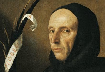 Girolamo Savonarola ritratto da Alessandro Bonvicino (1498-1554) (Immagine dal web)