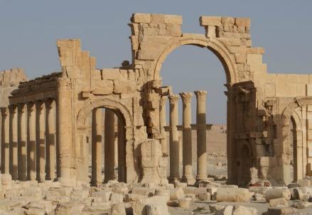 Siria, le rovine di Palmira (Immagine dal web)