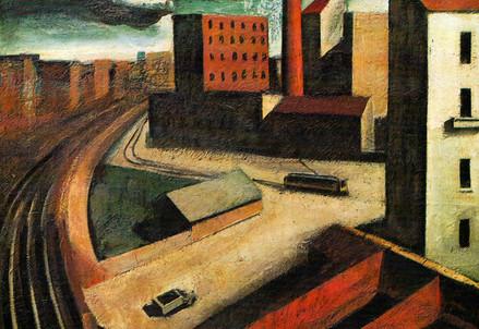 Mario Sironi, Paesaggio urbano (1920-21) (Immagine d'archivio)