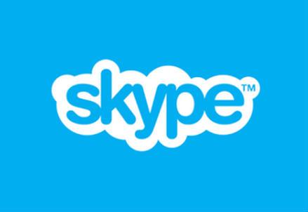 Il logo di Skype