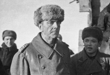 Stalingrado: Friedrich Paulus, comandante della VI armata, nelle mani dei russi (Immagine d'archivio)