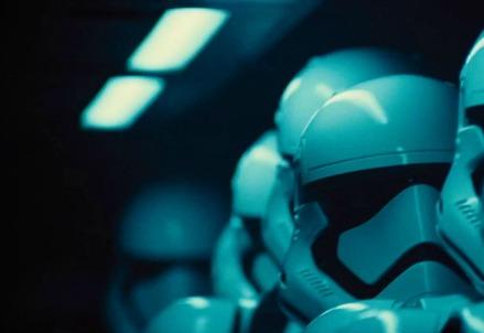Una scena di Star Wars 7 (Foto dal web)