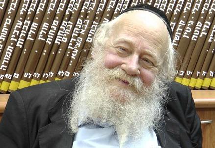 Adin Steinsaltz (Immagine dal web)