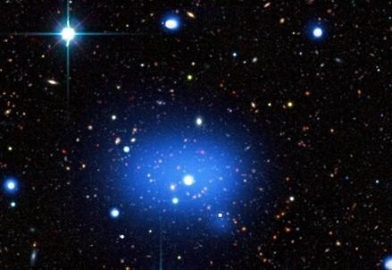 L'ammasso di galassie JKCS 041