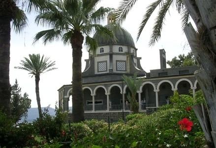 La Chiesa delle Beatitudini (Immagine d'archivio)