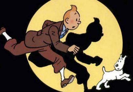 Tintin in azione (Immagine dal web)