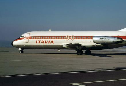 Il DC-9 Itavia I-TIGI caduto su Ustica (Wikipedia)