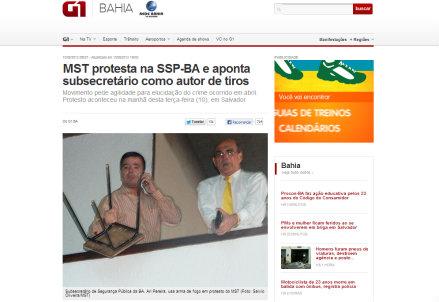 La versione online de il Globo