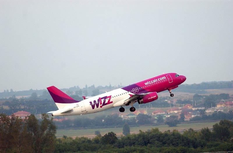 Un aereo della compagnia Wizz Air