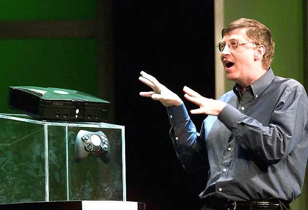 La presentazione della prima Xbox, nel 2001
