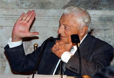L'ex presidente della Juventus Gianni Agnelli