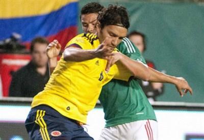 Abel Aguilar, 29 anni, centrocampista del Tolosa e della nazionale colombiana (Foto Infophoto)