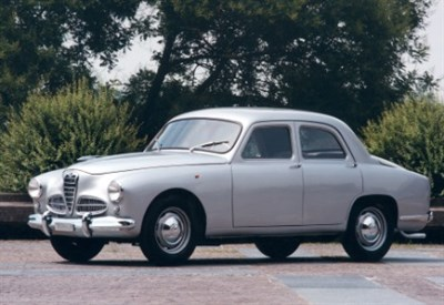 La storica Alfa Romeo 1900 del 1950