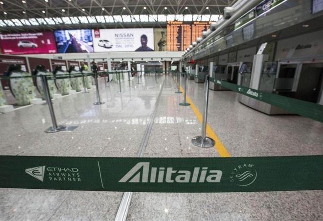 Referendum Alitalia (LaPresse)