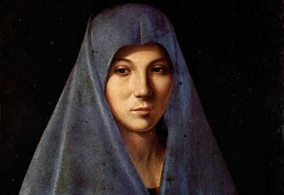 Antonello da Messina, l'Annunciata di Palermo (1476 c.a) (Immagine dal web)