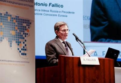 Antonio Fallico, Presidente Banca Intesa Russia e Presidente Associazione Conoscere Eurasia