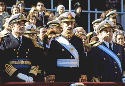 La giunta militare argentina (Immagine d'archivio)